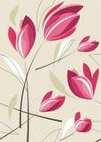 tło tulipan ilustracji