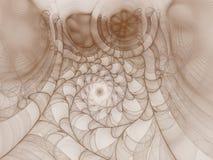 Tło tworzący gromadzić kilka fractals Zdjęcia Royalty Free