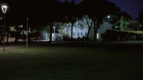 Tło ustanawia strzał parkową noc 09 zbiory