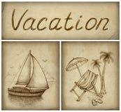 tło wakacje ilustracja wektor