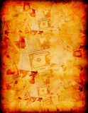 tło waluta Obraz Royalty Free