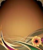 tło wektor kwiecisty retro ilustracji