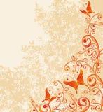 tło wektor motyli kwiecisty ilustracji