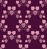 tło winorośle różowią bezszwowego ilustracji