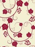 tło winorośle różowią bezszwowego royalty ilustracja