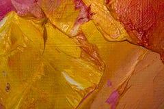 Tło wizerunek jaskrawy farby palety zbliżenie Tło Obraz Stock