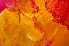 Tło wizerunek jaskrawy farby palety zbliżenie Tło Zdjęcia Stock