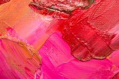 Tło wizerunek jaskrawy farby palety zbliżenie Tło Zdjęcie Stock