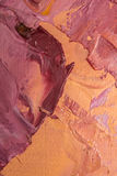 Tło wizerunek jaskrawy farby palety zbliżenie Tło Fotografia Stock
