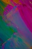 Tło wizerunek jaskrawy farby palety zbliżenie Tło Obrazy Royalty Free