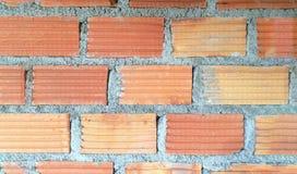 tło wizerunku rastre ceglana ściana W budowie Zdjęcie Royalty Free