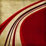 tło wyginająca się kreskowa czerwień ilustracja wektor