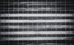 Tło wzór fałdowy czerń papier w 256 częściach Obrazy Stock