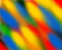 Tło wzór z błękitnym żółtym colour Zdjęcia Royalty Free