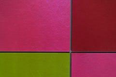 Tło wzoru kolorowa ściana /pink/red/green zdjęcie stock