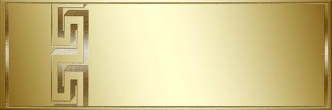 tło złoty Zdjęcie Stock