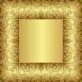 tło złoty Obraz Royalty Free