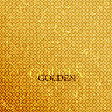 Tło złoty Obrazy Stock