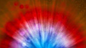 Tło z ładnymi promieniowanie promieniami ilustracja wektor