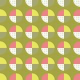 Tło z abstrakcjonistycznym okręgiem Fotografia Stock