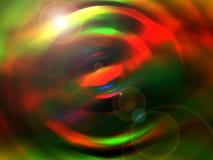 Tło z abstrakt barwiącym echem Ilustracji