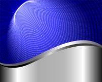 Tło z binary tunelem 2 Fotografia Stock