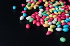 Tło z bonbons zdjęcie stock