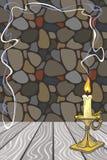 Tło z candlestick ilustracji