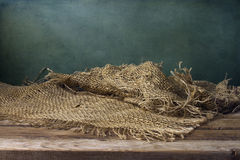 Tło z drewnianym pokładem Zdjęcia Royalty Free