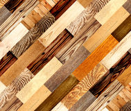 Tło z drewnianymi wzorami Zdjęcia Royalty Free