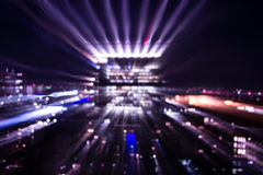 Duzi miast światła Obraz Royalty Free
