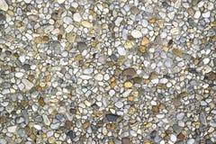 Tło z kamieniami osadza w ścianie Obraz Stock