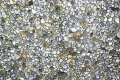 Tło z kamieniami osadza w ścianie Zdjęcia Stock