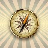 Tło z kompasem Zdjęcia Royalty Free