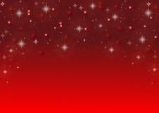 Tło z lśnienie gwiazdami Obrazy Royalty Free
