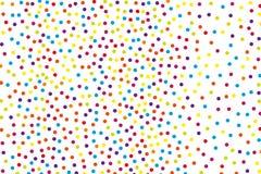 Tło z nieregularnymi, chaotycznymi kropkami, punkty, okrąg Festiwalu wzór royalty ilustracja