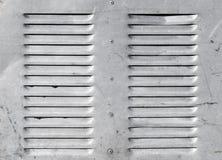 Tło z olśniewającym metal wentylaci grille Zdjęcie Stock