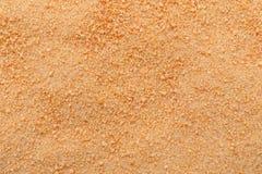 Tło z organicznie kokosowym cukrowym zbliżeniem od wierzchołka, obrazy stock