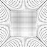 Tło z perspektywiczną siatką. Zdjęcie Royalty Free