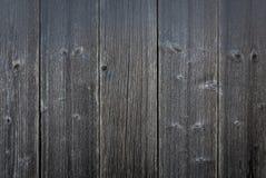 Tło z popielatym czarnym starym wietrzejącym vertical wsiada zdjęcie stock