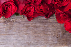 Tło z różami obrazy royalty free