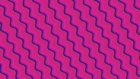 Tło z różnorodność stubarwnymi fala w tapetuje styl ilustracja wektor