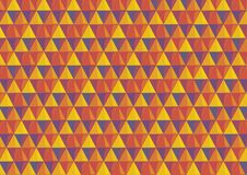 Tło z trójbokami w upałów kolorach obraz royalty free