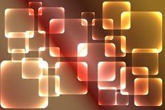Tło, zadziwiająca kolorowa kwadratowa tekstura Zdjęcia Royalty Free