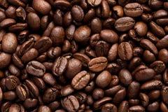 tło zamazane bobowe krawędzie kawy skupiają selektywnego obraz stock