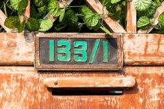Tło zieleni liście Zdjęcia Stock