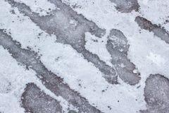Tło zimy lodowa i śnieżna tekstura zdjęcia royalty free