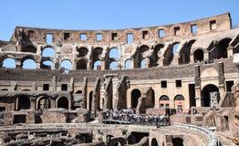 Tłoczy się w Colosseum Fotografia Royalty Free