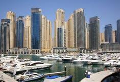 tłuc Dubai jacht fotografia royalty free