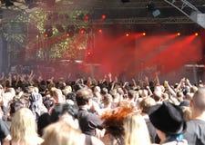 tłum na koncert zdjęcia royalty free